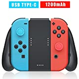 Nintendo Switch Joy Con Controller Charging Grip, USB Type C Charge Cable and 2pcs Thumbstick Caps Included Review
