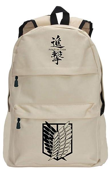 Anime Attack on Titan Shoulder Backpack Book Bag Laptop bag School Bag