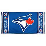 MLB Toronto Blue Jays 30 by 60 Fiber Reactive Beach Towel