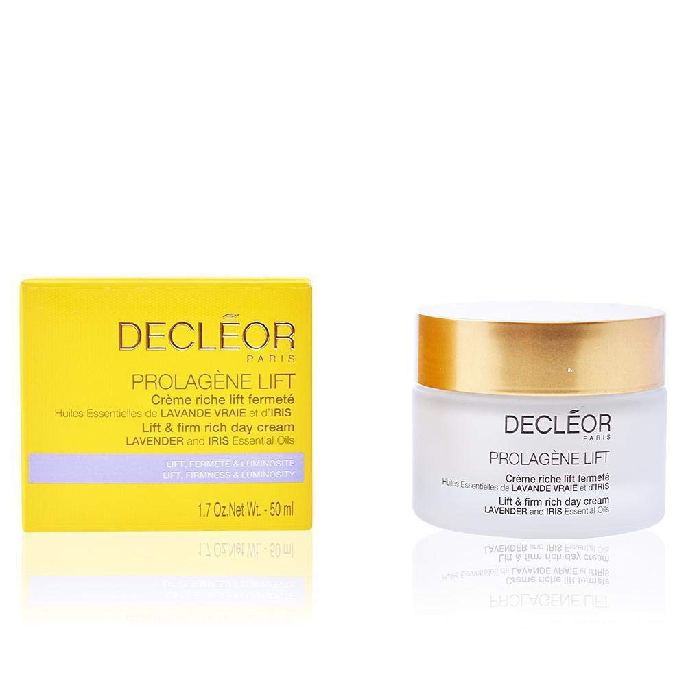 Decleor Prolagene Lift Lavender and Iris Lift and Firm Rich Day Cream, 1.7 Ounce