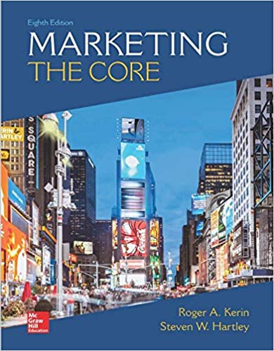 Marketing: The Core by Hartley/Kerin