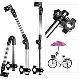Flexzion Bicycle Umbrella Mount Holder Swivel Connector...