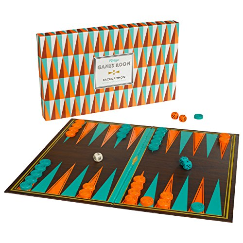 Ridley's Backgammon Classic Board Game for Kids and Adults ()