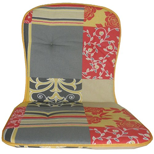 Cojín de asiento para silla de oficina con respaldo bajo ...