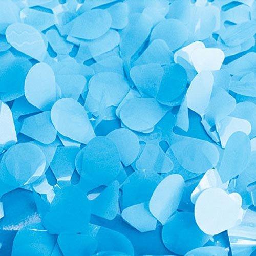 Light Blue Vinyl Floral Sheeting
