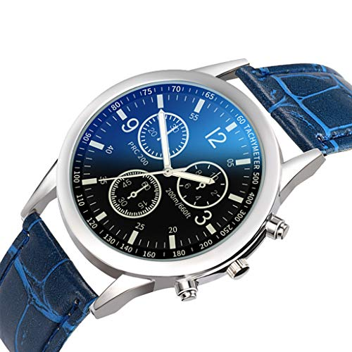 Amazon.com: XBKPLO Men Watches Quality Luxury Temperament Fine Quartz Analog Wrist Business Watch Leather Strap Jewelry Gift: Pet Supplies