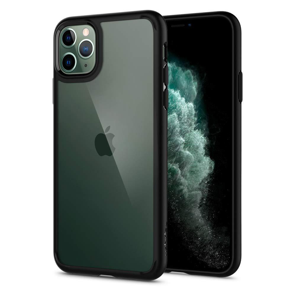 Spigen Ultra Hybrid Designed for Apple iPhone 11 Pro Max Case (2019) ,  Matte Black