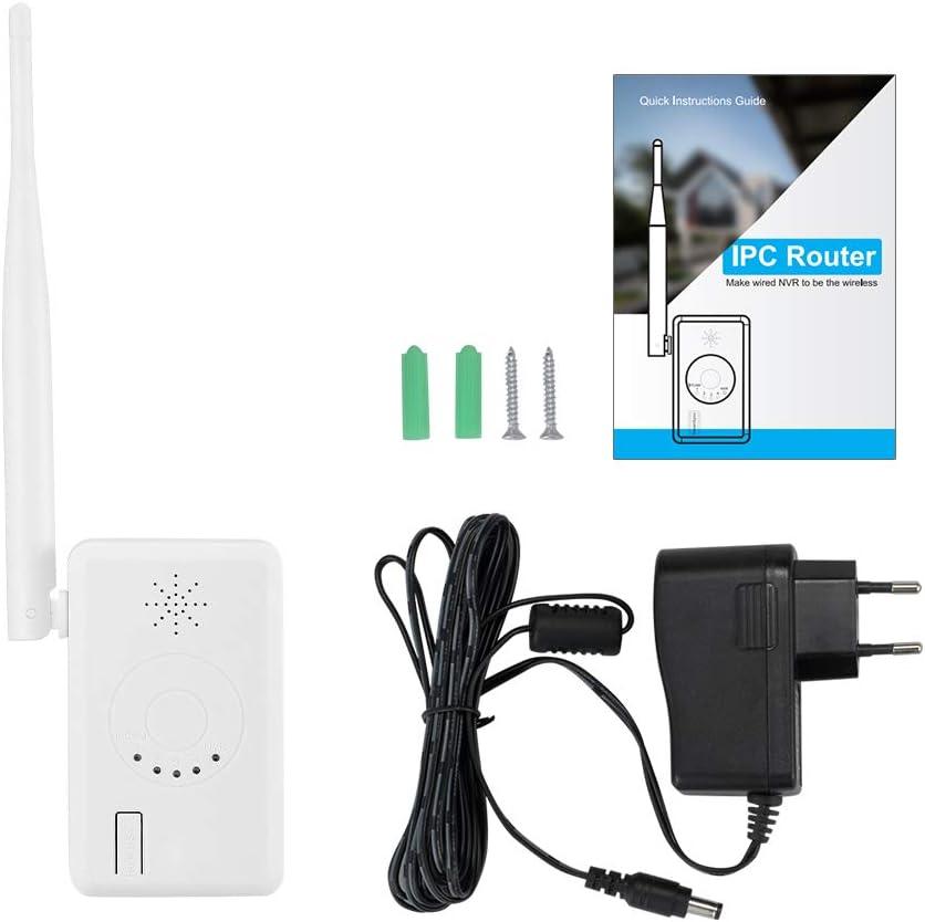 ZOSI 2.4G WiFi Repetidor para Sistema NVR Inalámbrico ZOSI, Amplificador de la Señal de la Cámara Vigilancia WiFi