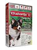 K9 Advantix II for Dog 21-55 Lbs 12 Pack