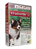 K9 Advantix II for Dog 21-55 Lbs 12 Pack