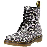 Dr. Martens 1460 Re-Invented Victorian Print Lace Up Boot,Black Mini Tydee,9 UK / 10 US Mens / 11 US Womens