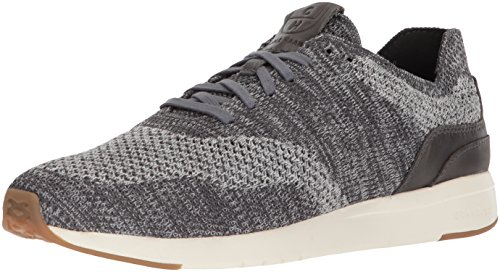 Cole Haan Men's Grandpro Runner Stitchlite Sneaker, Grey Heathered/tan, 10 M US