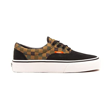 358f7588 Vans Board Era Checker Blackmilitary OliveColor Negro Shoes vN0wmn8