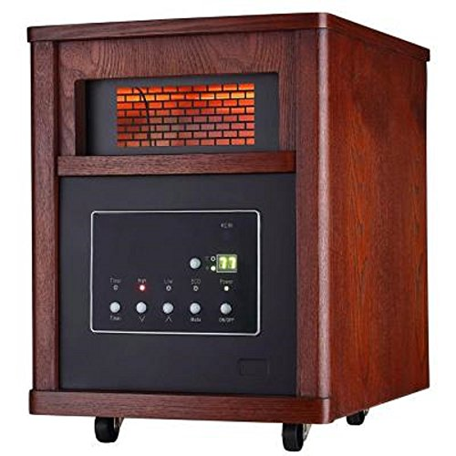 1500-Watt Infrared Electric Portable Heater with 6 Quartz Element | 1500-Watt 6 amzn_product_post Electric Element Heater Infrared Infrared Heaters Infrared Heaters Portable Quartz with