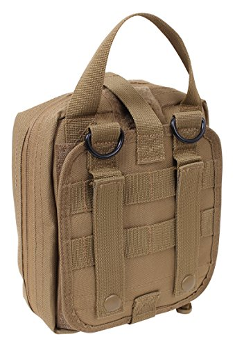 Rothco MOLLE Compatible Tactical Breakaway Tri-Fold Pouch, C