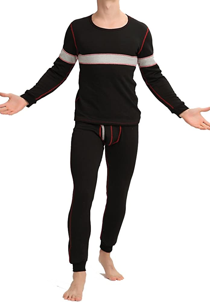 Louis Rouse Men's Thermal Underwear Set Fleece Inside Added at  Men's Clothing store