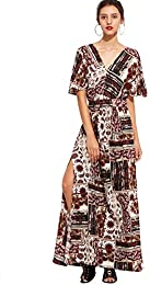 Amazon.com: Brown - Dresses / Clothing: Clothing- Shoes &amp- Jewelry