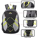 Trailmaker Full Size 17 Inch Bungee Backpack With