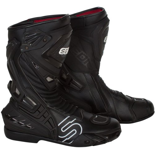 (SEDICI Ultimo Motorcycle Boots - 12, Black)