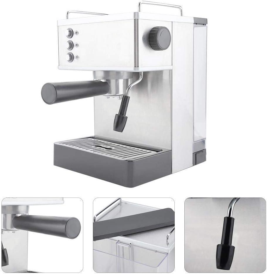 Máquina de café de alta presión Cafetera de café de acero ...