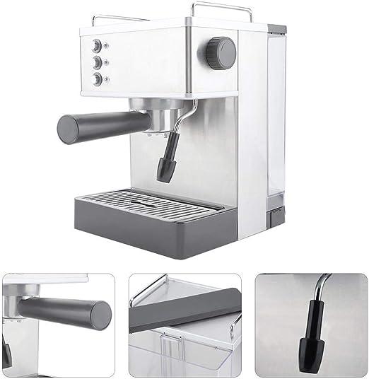 Máquina de café, GS-690 Acero Inoxidable Café Express Cafetera de ...