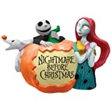 Westland Giftware 11.75-Inch Ceramic Teapot, 35-Ounce, Disney Pumpkin Nightmare