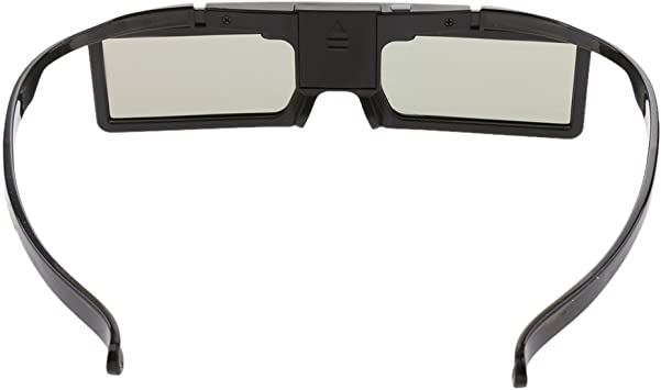 Gafas de Cristal con Obturador Activo 3D para Habilitar Proyector de TV 3D Uso Profesional y Personal: Amazon.es: Electrónica