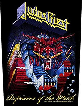Amazon.com: XLG Judas Priest Defenders of the Faith Back Patch Album Art Fan Sew On Applique: Music