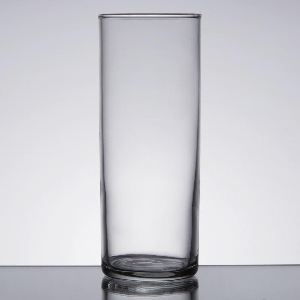 Set of 6 Collins / Zombie Glass 12 oz, Libbey 96 w/Signature Party Picks