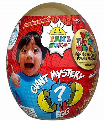 Ryan's World Giant Gold and Yellow Mystery Egg Bundle by Ryan's World (Image #1)