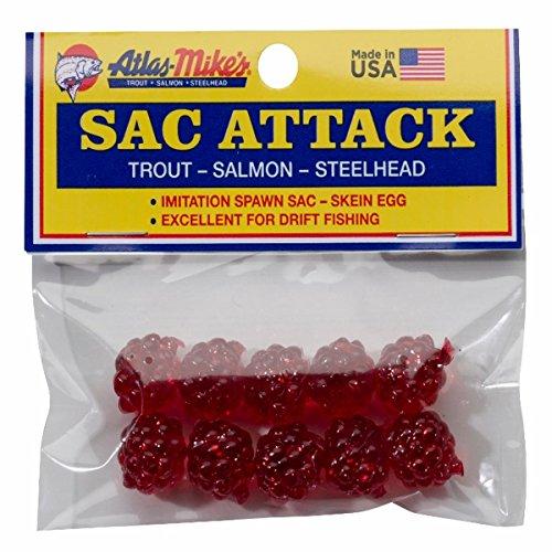 Atlas - Sac Attacco Trout Bait di Mike, Rosso