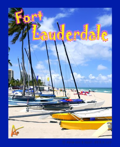 Best Ultimate Ft Lauderdale Fla Beach Travel Collectable Souvenir Patch - Destination Photo Souvenir Postcard Type Quality Photos Graphics Iron-On Patch- Fort Lauderdale Florida Small Sailboats on Beach -