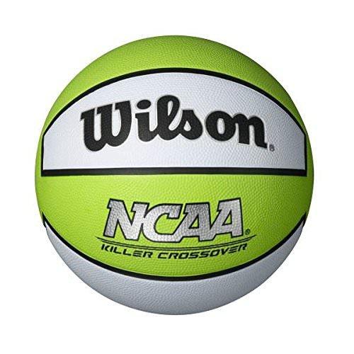 Wilson Killer Crossover Basketball, Lime/White, Youth, 27.5 in