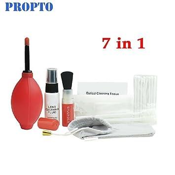 ProPto Pro lente óptico de 7 en 1 kit de limpieza Set de ...