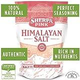 SHERPA PINK Gourmet Himalayan Salt - 10 lb. Bulk