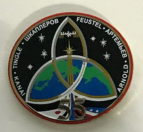 - NASA Expedition 55 Lapel Pin