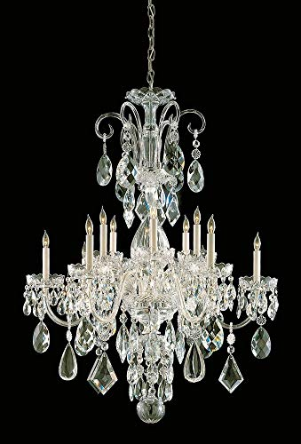 Bohemian 12 Light Candle Chandelier Finish: Polished Brass
