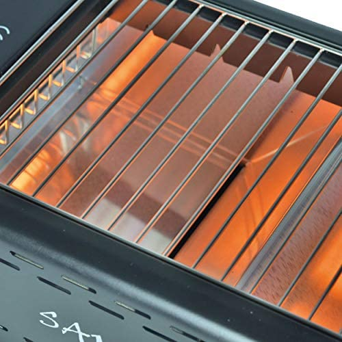 Activa Samurai Barbecue électrique de table Noir 1,3 kW Infrarouge Pour l'intérieur et l'extérieur