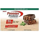 Premier Protein Nutrition Bar, Dark Chocolate Mint, 30g Protein, 6 Count