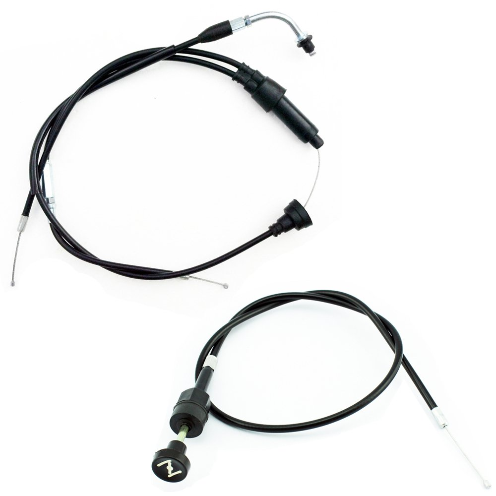 Yingshop Pull Choke Throttle Cable for Yamaha PW50 Y-Zinger Dirt Bike Motorcycle 1981-2009 PW 50