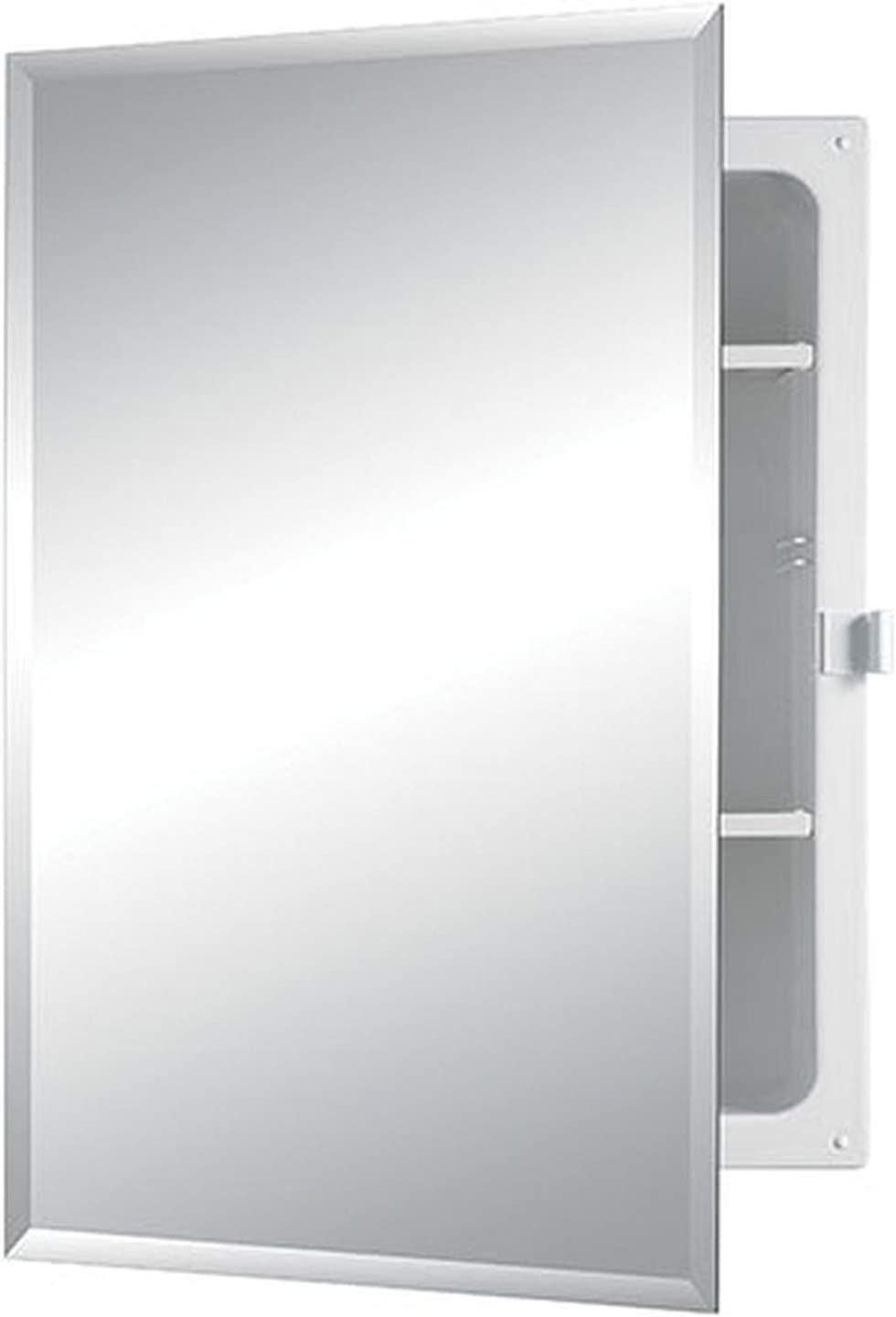 Jensen B7233B85PCX Bevel Mirror Positive Catch Medicine Cabinet