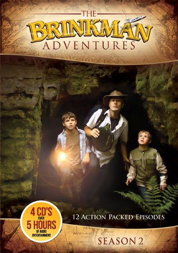 The Brinkman Adventures Season 2 Audio CDs