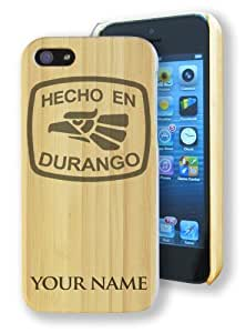 Bamboo Case/Cover for iPhone 5/5S - HECHO EN DURANGO - Personalized for FREE (Click the CONTACT SELLER link after purchase and send a message with your engraving request) by lolosakes by lolosakes