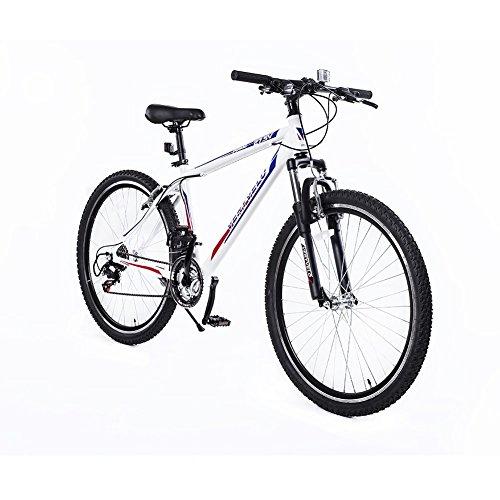 ZOYO White Road Bike 27.5 Women's Bike V Brakes Shimano 21 Speed Road Bike Aluminum Frame Lightweight