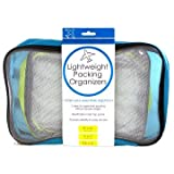 Kole Imports OS324 Lightweight Packing Organizers Set (Pack of 3)