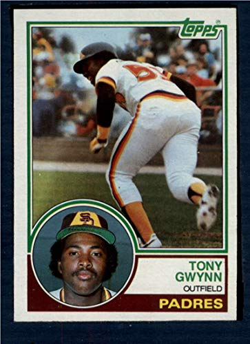 - 1983 Topps #482 Tony Gwynn UER NM-MT RC Rookie Card Padres