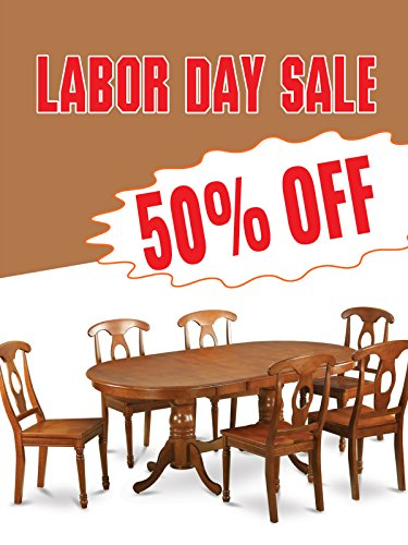 Labor Day Sale Furniture Business Retail Display Sign, 18