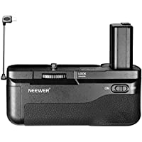 Neewer Vertical Battery Grip with Shutter Release Button for Sony A6300 Camera, Compatible with 1 or 2 NP-FW50 Battery