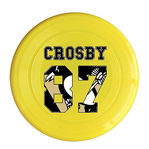 [VOLTE Hockey Player 87 Yellow Flying-discs 150 Grams Outdoor Activities Frisbee Star Concert Dog Pet] (Hockey Stanley Cup Costume)