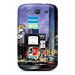 CrY6542HlXs Snap On Case Cover Skin For Galaxy S3(tokyo Shibuya Japan)